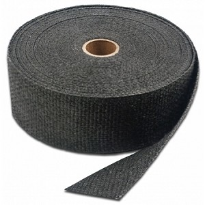 "(11153) Graphite Black Exhaust Insulating Wrap - 1"" x 15'"