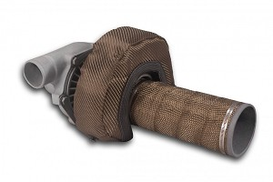 (15042) T4 Carbon Fiber Turbo Insulating Kit